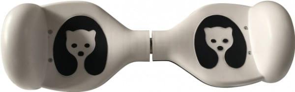 Гироскутер 1toy с комплектом защиты - белый