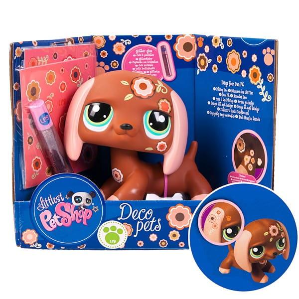 Купить Игровой набор Littlest Pet Shop Раскрась своего питомца - Собачка (Hasbro) в интернет магазине игрушек и детских товаров