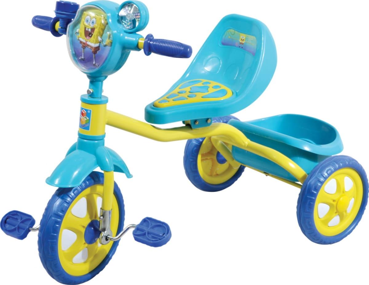 Трехколесный велосипед 1toy Т57655 Губка Боб