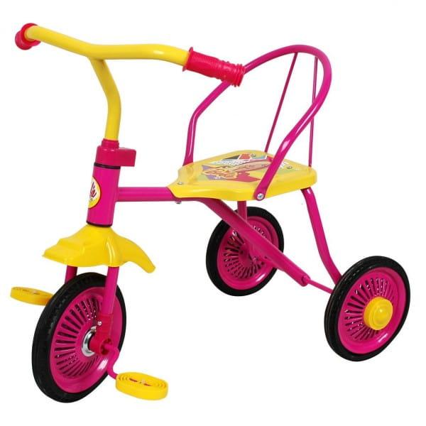 Трехколесный велосипед 1toy Т58440 Barbie