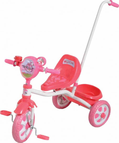 Трехколесный велосипед 1toy Т56839 Angry Birds for girl