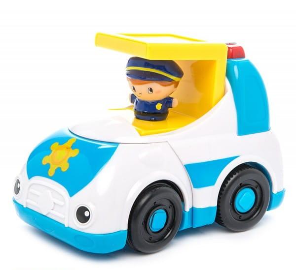 Машинка Kidz Delight Полиция - со звуком (1toy)