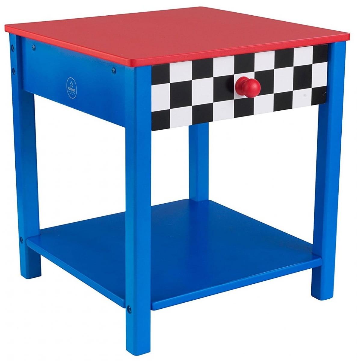 Прикроватный столик KIDKRAFT Гоночная машина Race Car Side Table