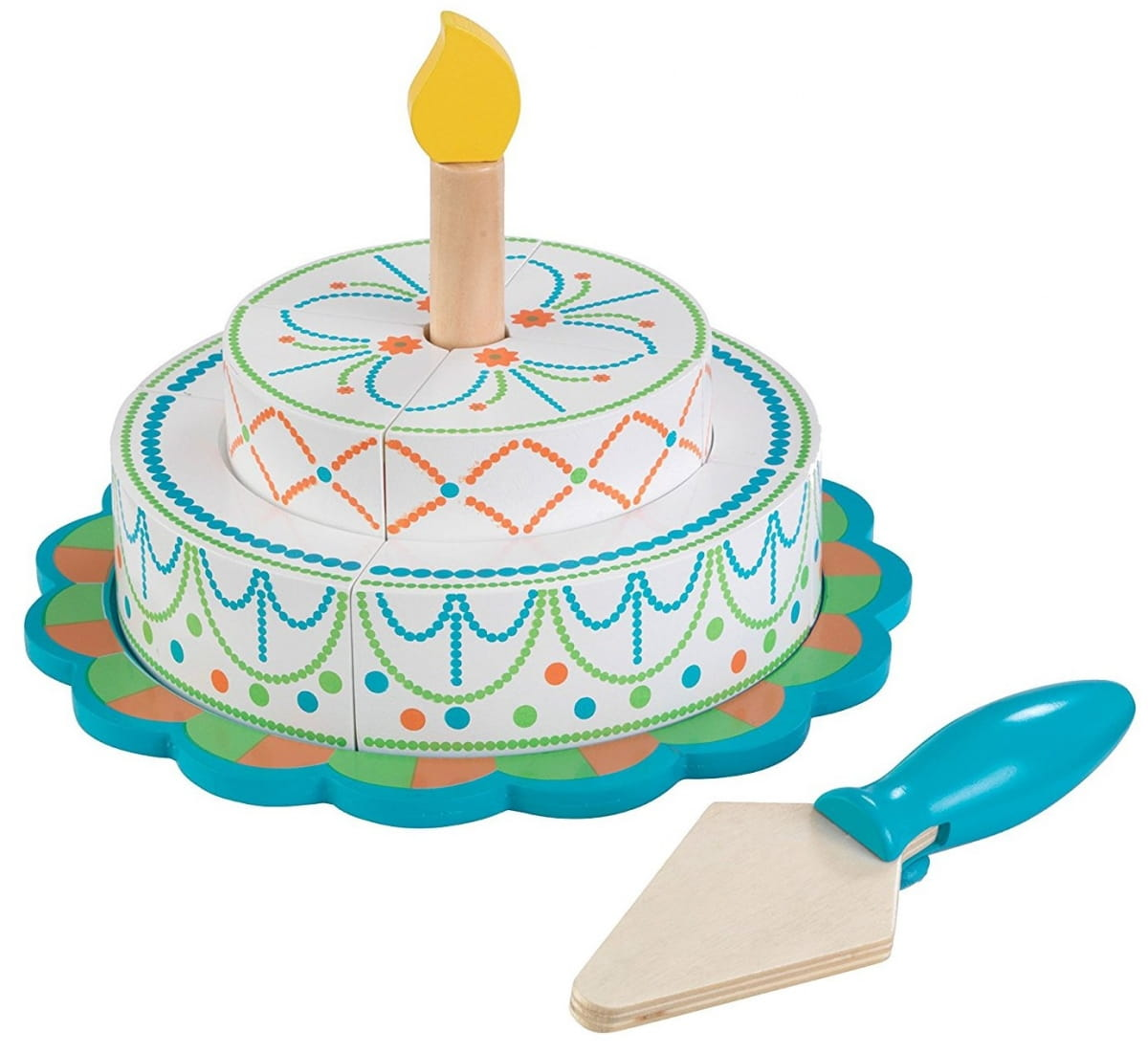Игровой набор KidKraft 63383_KE Многоуровневый праздничный торт - яркий