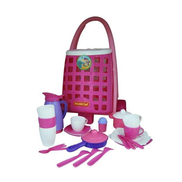 Игровой набор Palau Toys 44389_PLS c набором детской посуды (31 элемент)