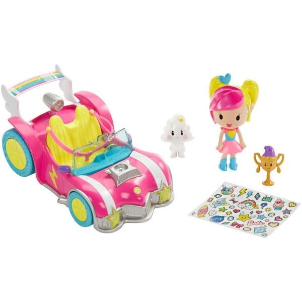 Игровой набор Barbie DTW18 Автомобиль из серии Barbie DTW18 и виртуальный мир (Mattel)