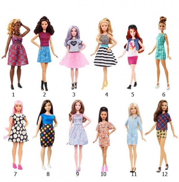 Кукла Barbie Игра с модой (Mattel)