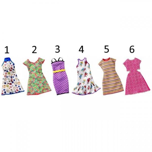 Игровой набор Barbie FCT12 Универсальные платья для кукол (Mattel)