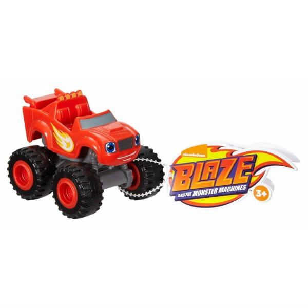 Машинка Mattel DKV81 Blaze Вспыш и чудо-машинки - красная