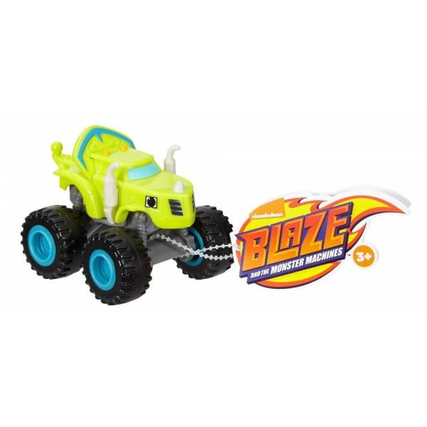 Машинка Mattel DKV81 Blaze Вспыш и чудо-машинки - салатовая
