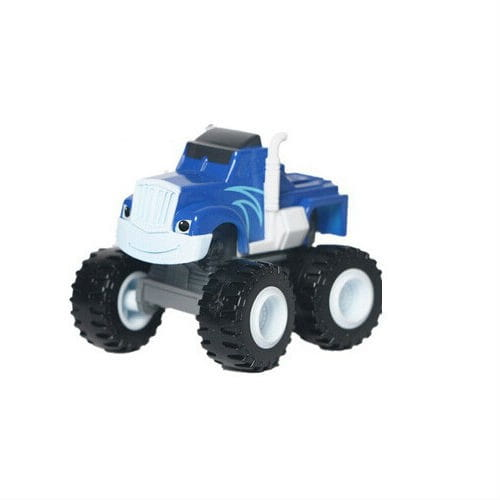 Машинка Mattel DKV81 Blaze Вспыш и чудо-машинки - синяя