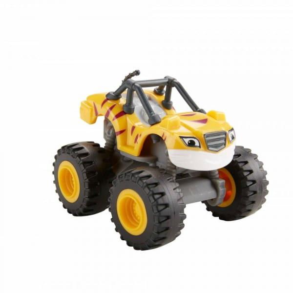 Машинка Mattel DKV81 Blaze Вспыш и чудо-машинки - оранжевая