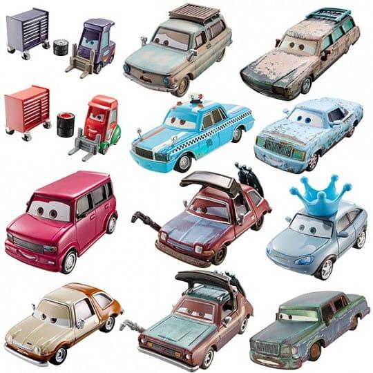 Базовая машинка Cars Тачки (Mattel)