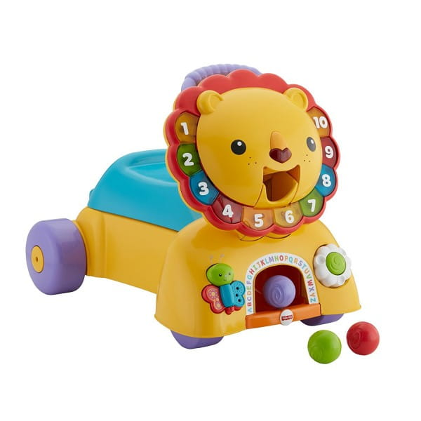 Ходунки Fisher Price DPL61 Лев (Mattel)