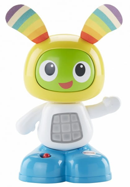 Интерактивный мини-робот Fisher Price Бибо - 15 см (Mattel)