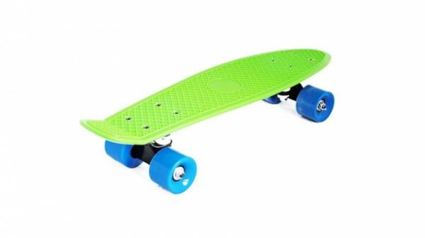 Скейт пластиковый Moove and Fun PP2206-1 green 22х6