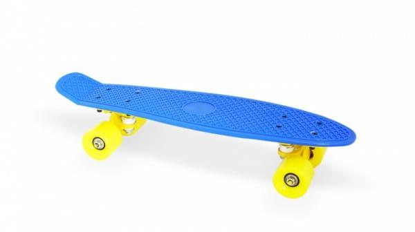 Скейт пластиковый Moove and Fun PP2206-1 navy blue 22х6