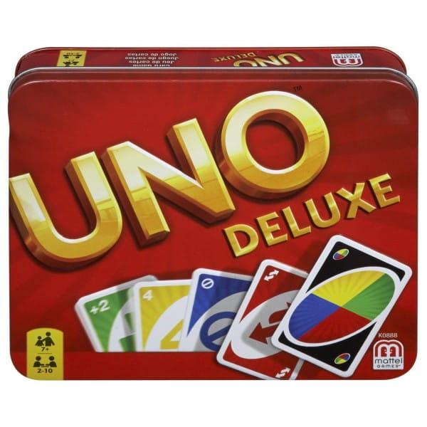 Настольная игра Mattel K0888 Уно Uno Делюкс