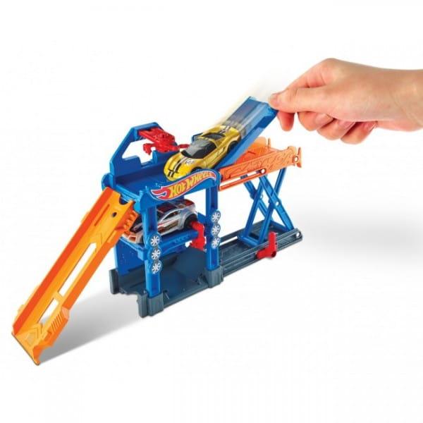 Игровой набор-трансформер Hot Wheels DWK99 Механический лифт (Mattel)