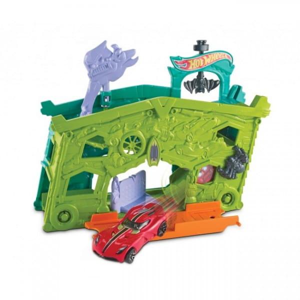 Игровой набор-трансформер Hot Wheels DWK99 Гараж с призраками (Mattel)