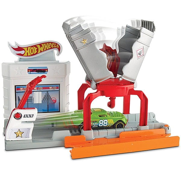 Игровой набор-трансформер Hot Wheels DWK99 Взрывная трасса (Mattel)