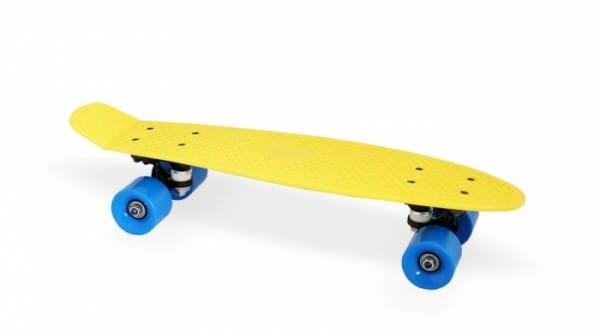Скейт пластиковый Moove and Fun PP2206-1 yellow 22х6