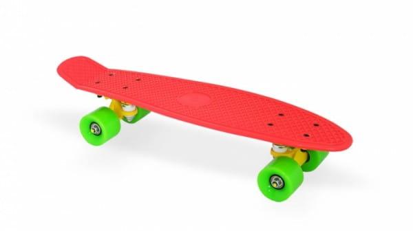 Скейт пластиковый Moove and Fun PP2206-1 red 22х6