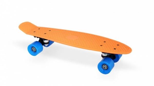 Скейт пластиковый Moove and Fun PP2206-1 orange 22х6