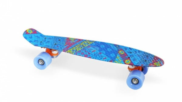 Скейт пластиковый Moove and Fun PP2206-18 blue 22х6