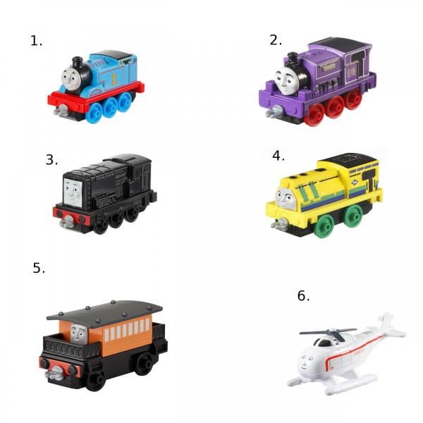 Игровой набор Thomas and Friends Томас и его друзья Маленький паровозик (Mattel)