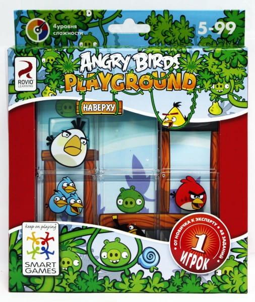 Логическая игра Bondibon Angry Birds Playground Наверху