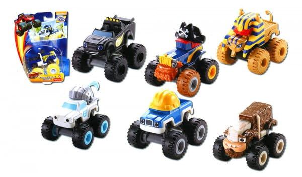Чудо-машинка Mattel CGF20 Blaze Вспыш и его друзья