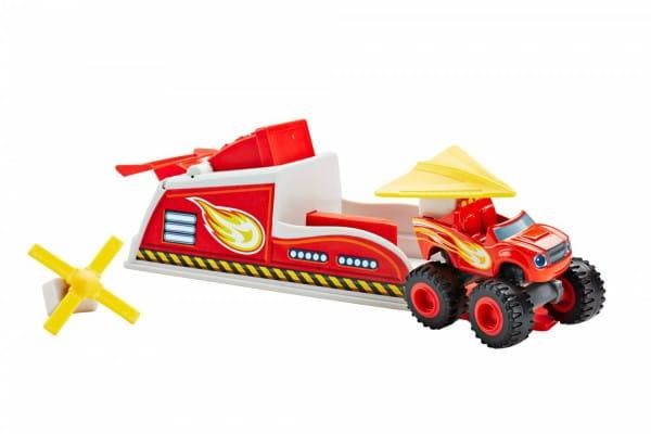 Игровой набор Mattel Blaze Вспыш и пусковое устройство