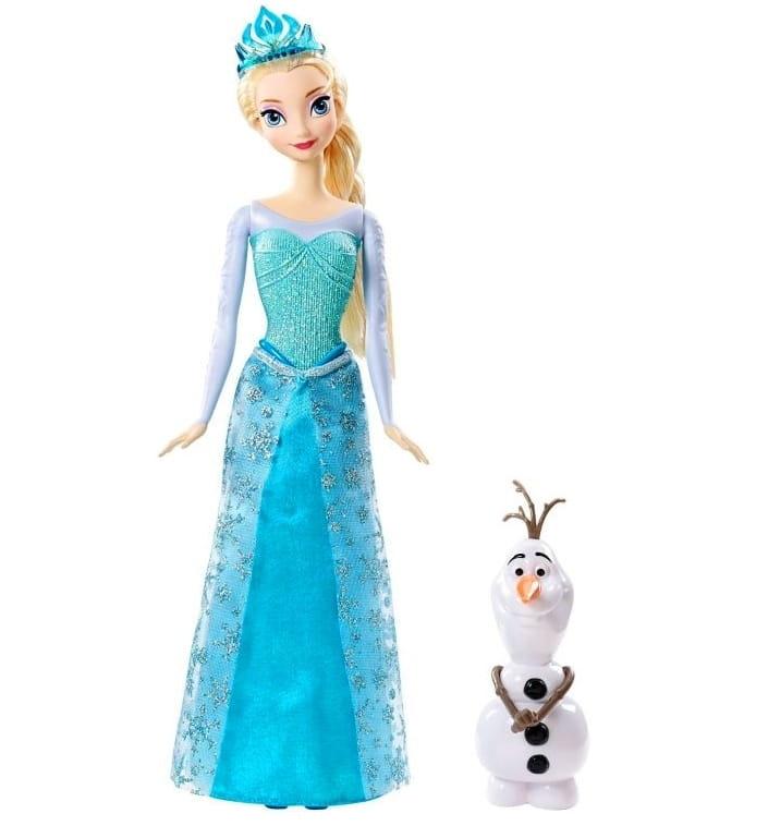 Кукла Disney Princess CMM87 Холодное Сердце Эльза с Олафом (Mattel)