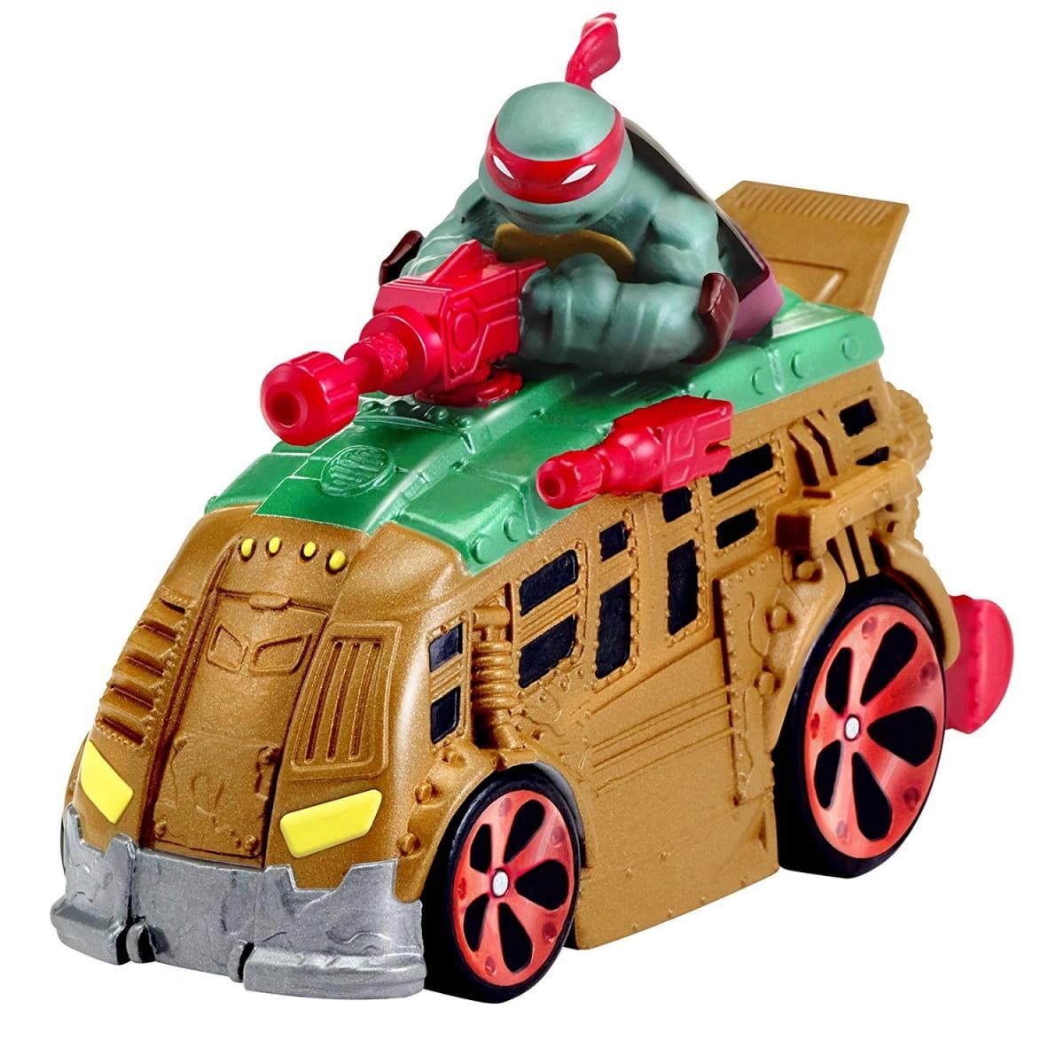 Машинка Playmates Черепашки Ниндзя Рафаэль - 7 см
