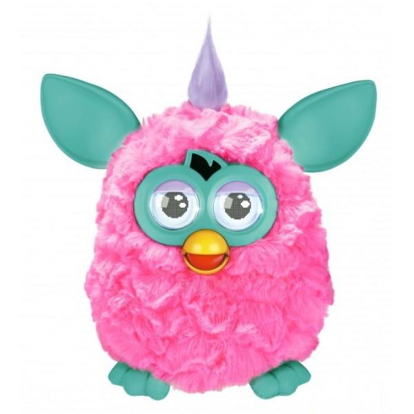 Купить Интерактивная игрушка Furby (Ферби) с хохолком розово-бирюзовый (Hasbro) в интернет магазине игрушек и детских товаров