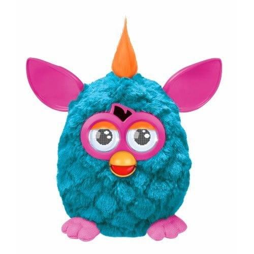 Купить Интерактивная игрушка Furby (Ферби) с хохолком бирюзовый (Hasbro) в интернет магазине игрушек и детских товаров