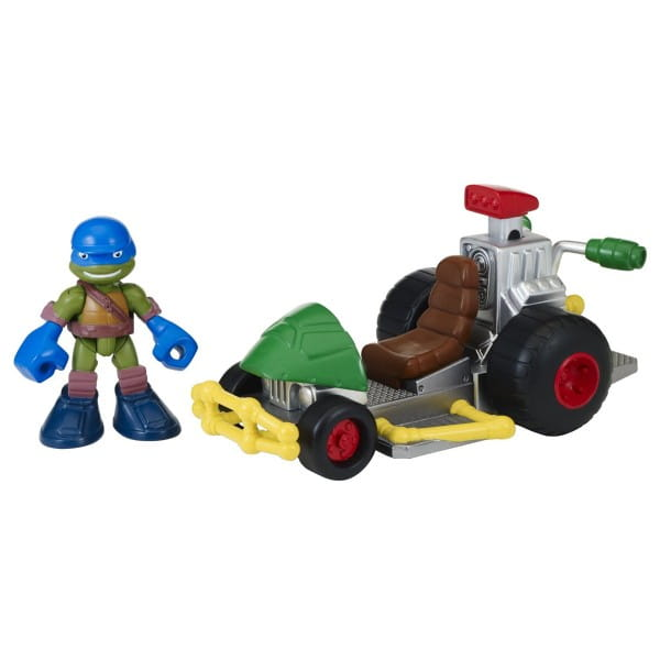 Фигурка Playmates 96701 Черепашки Ниндзя Half Shell Hero Леонардо с багги