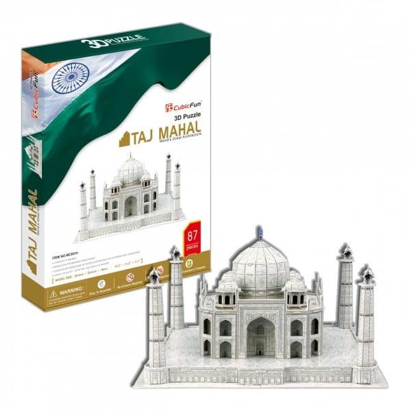 Объемный 3D пазл CubicFun Тадж Махал (Индия)