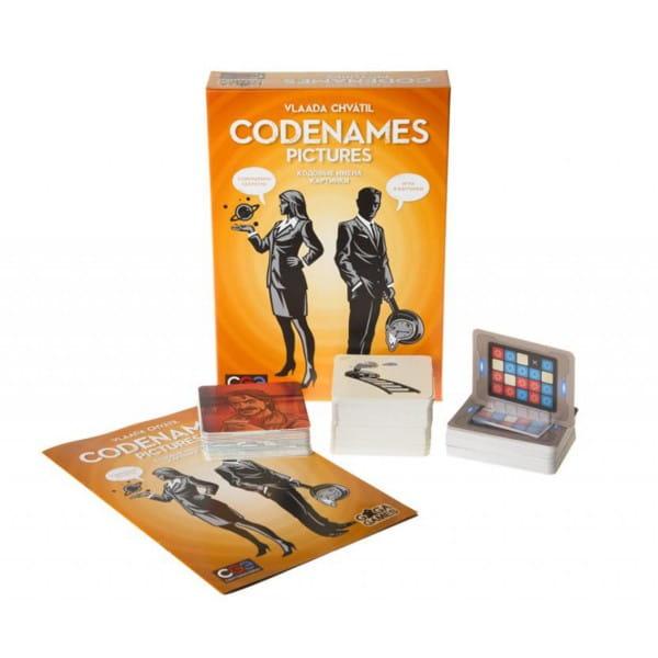 Настольная игра Gaga Games GG051 Кодовые имена – Картинки