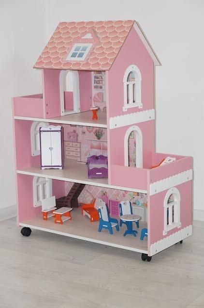 Кукольный домик Фабрика домиков Princess Принцесса