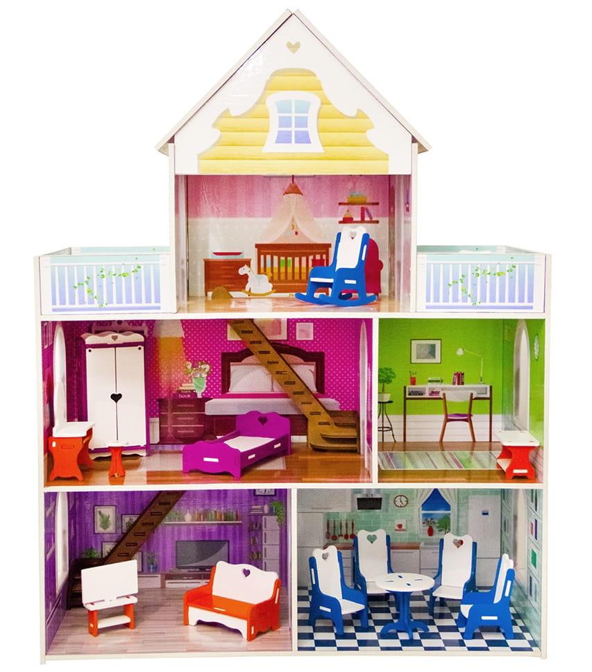 Кукольный домик Фабрика домиков Ysadba Усадьба