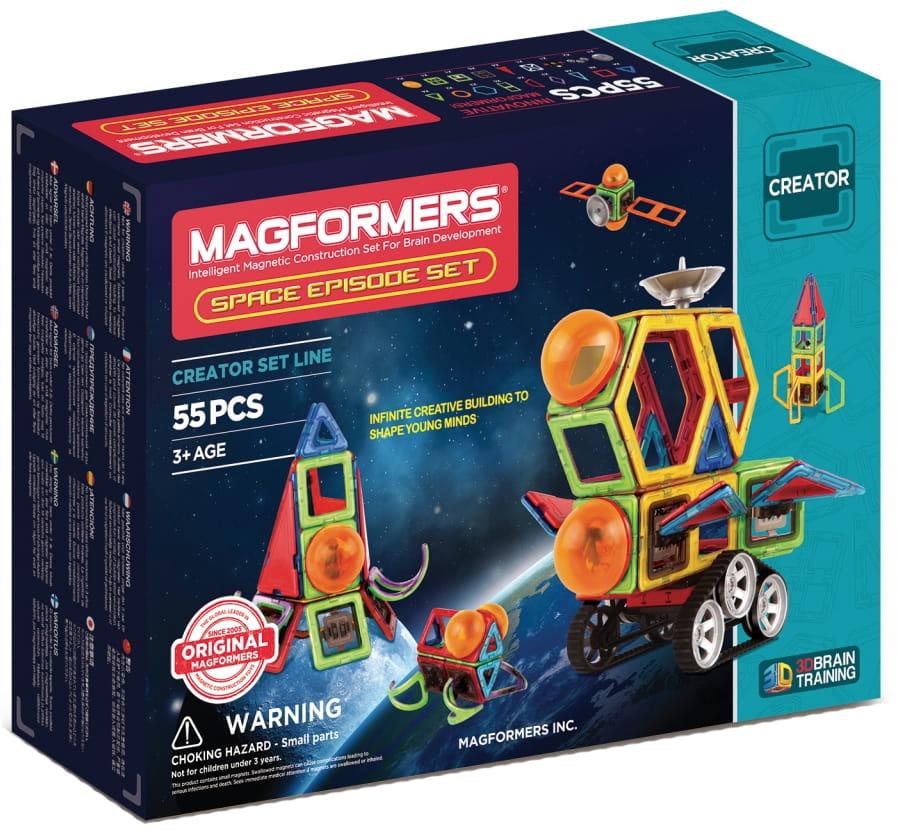 Магнитный конструктор Magformers 703014 Space Episode Set (55 деталей)