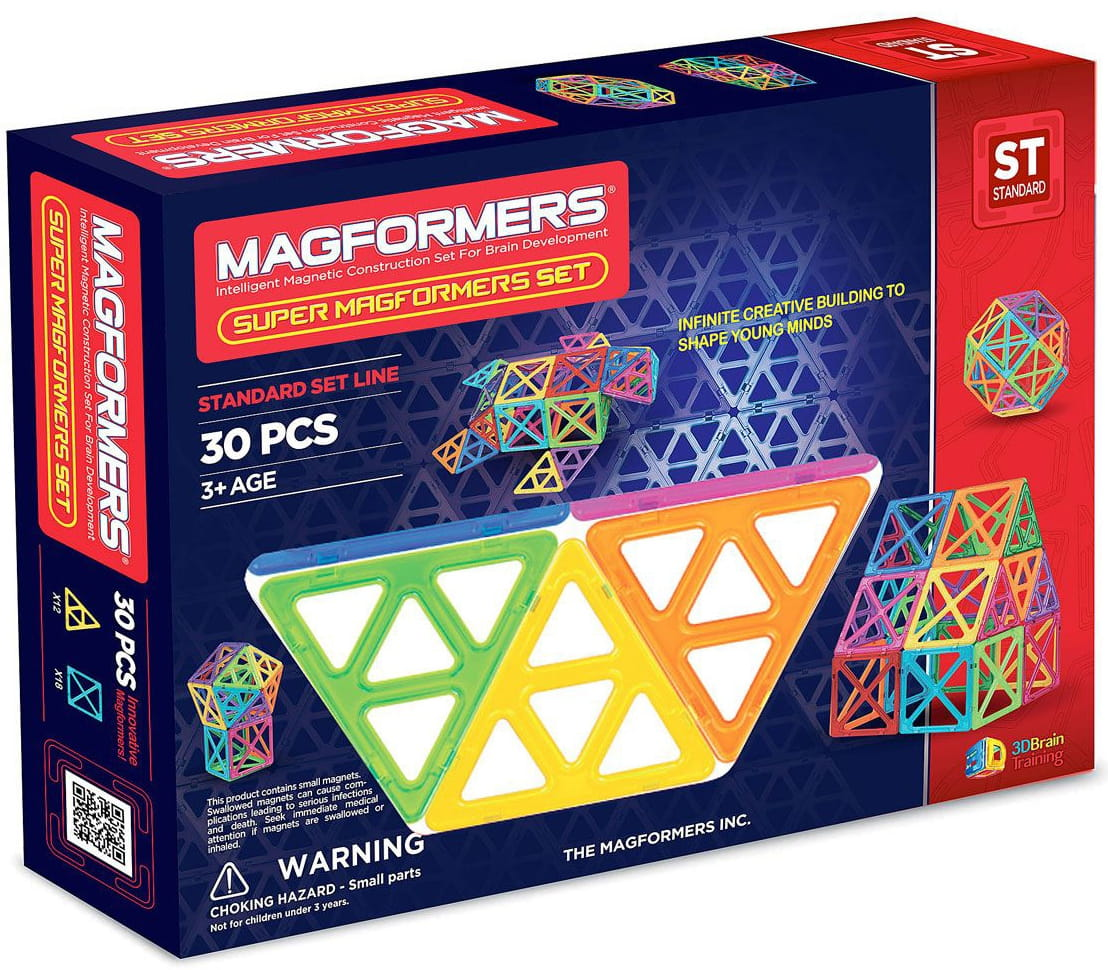 Магнитный конструктор Super Magformers-30
