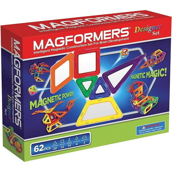Конструктор Magformers 703002 (63081) Designer Set (62 детали)