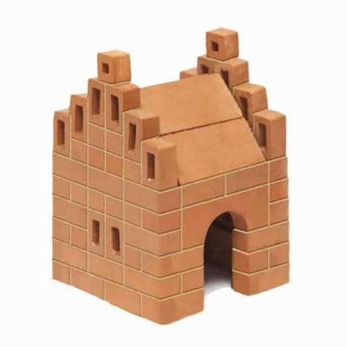 Купить Конструктор из кирпичиков БрикНик Домик - 99 деталей в интернет магазине игрушек и детских товаров