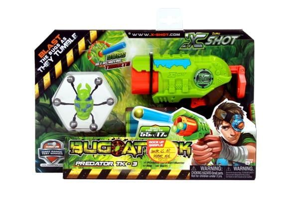 Микро бластер X-Shot Атака Пауков (с мишенями) - Оружие