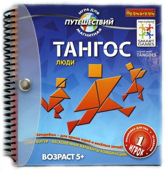 Купить Магнитная игра для путешествий Bondibon Тангос Люди в интернет магазине игрушек и детских товаров