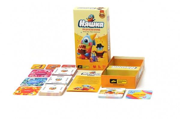 Настольная игра Cosmodrome Games 52012 Няшка