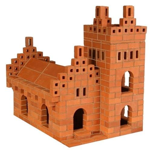 Купить Конструктор из кирпичиков БрикНик Собор - 488 деталей в интернет магазине игрушек и детских товаров